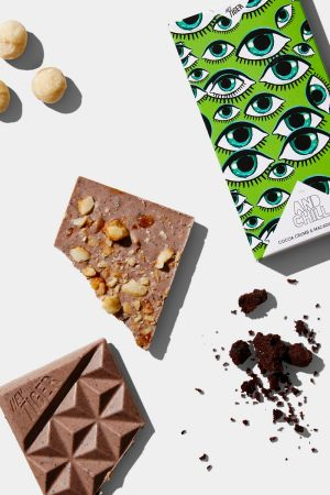 Hey Tiger's chocolate bars combine unusual flavours.
