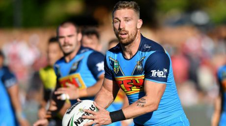 Struggling: Bryce Cartwright had a forgettable first season at the Titans.