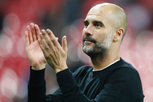 Window of opportunity: Pep Guardiola is planning to improve his squad over the summer.