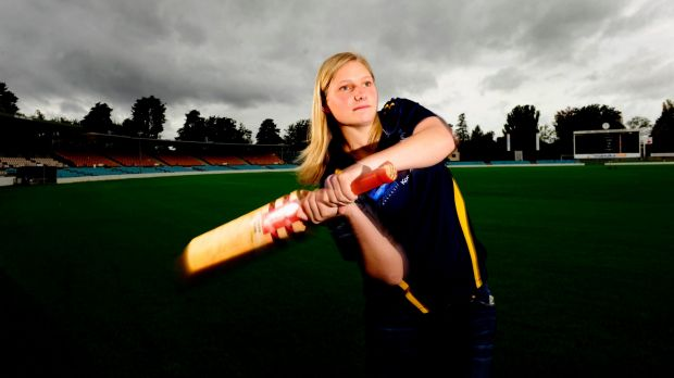 Zoe Cooke is back in blue and gold.