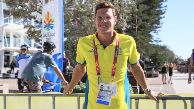 Australian swimmer Mitch Larkin has expressed his disappointment at the closing ceremony.