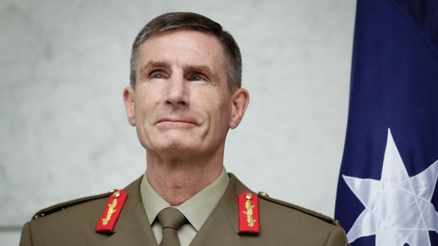 Lieutenant General Angus Campbell is Australia's next Chief of the Defence Force.