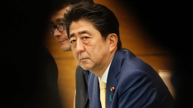 Japan's Prime Minister Shinzo Abe  is struggling against allegations of corruption and cronyism.