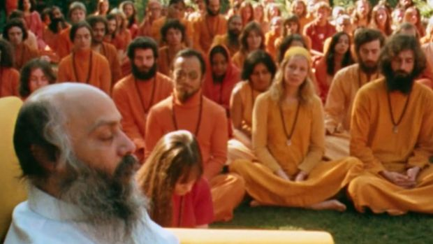 A still from Netflix documentary Wild Wild Country.