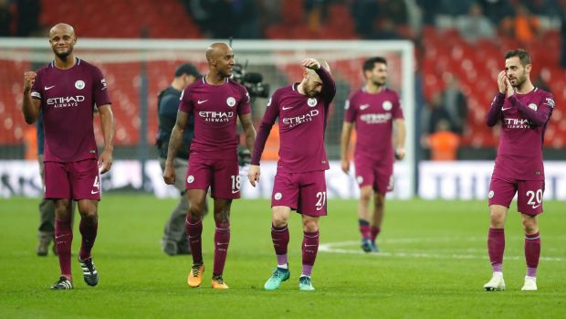 Squad goals: Manchester City may find their squad intact next season, if a potential transfer ban goes ahead.