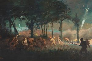 Will Longstaff, Night attack by 13th Brigade on Villers-Bretonneux.