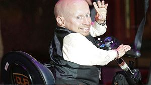 Verne Troyer, pictured in London.