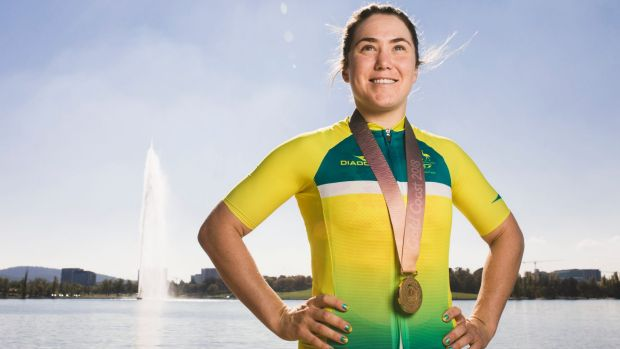 A Cycling Australia edict launched Canberra cyclist Chloe Hosking's bid for gold.