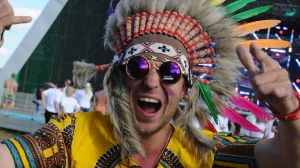 Feathered headdresses and other culturally sensitive items are definitely a fail.