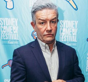 Social Seen:?Lawrence Mooney at the Sydney Comedy Festival launch at the Sydney Opera House on Monday, April 23, 2018.