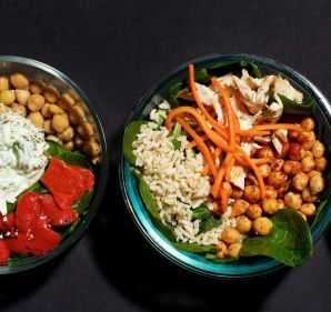 Save your cash, and skip the fast-casual assembly line by building your own lunch bowl.