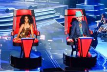 The Voice Australia judges 2018: Joe Jonas, Delta Goodrem, Kelly Rowland and Boy George.