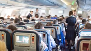 Groups are often split up on flights, particularly on budget airlines.