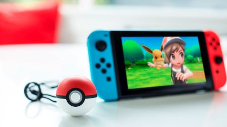 The Poke Ball Plus will let players store one pokemon to take out into the world with them, and it's also a controller.