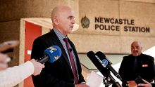 NEWS - Newcastle Police Station....   Detective Superintendent John Kerlatec, SCC Child Abuse and Sex Crimes Squad ...