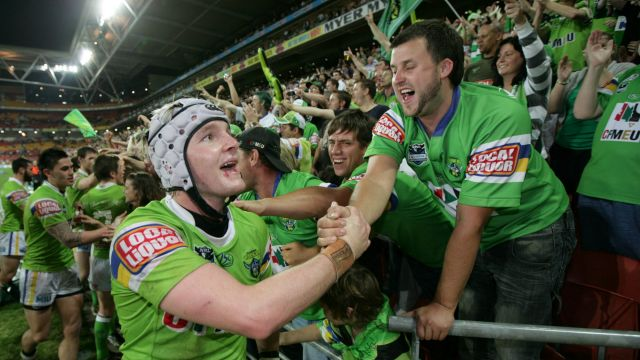 Croker was a young gun when the Raiders last won in Brisbane in 2010.