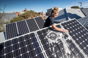Keeping it clean: getting solar panels on your roof is not a 'set and forget' matter, Choice says.