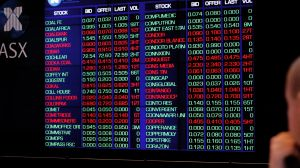 ASX Photo Michele MOssop Mon 5th Sept 2011 Not a good day on the stock market as markets react to latets US jobs ...