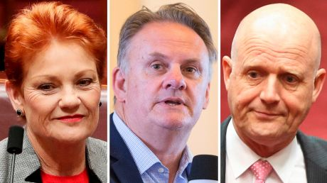 Shaking up NSW politics? Pauline Hanson and her recruit targeting the NSW upper house, Mark Latham, and his almost ...