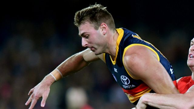 The Crows hope Daniel Talia will be right to play round one.