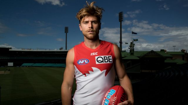 Dane Rampe will join Luke Parker and Josh Kennedy as Sydney's co-captains in 2019.