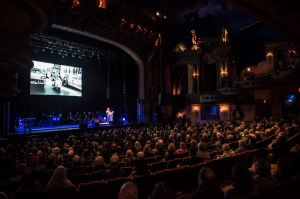 The Memorial service for Harry M Miller at the Capitol Theatre. 3rd August 2018 Photo: Steven Siewert