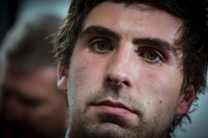 7/8/18 Andrew Gaff after recieving his suspension at the AFL tribunal. Photograph by Chris Hopkins