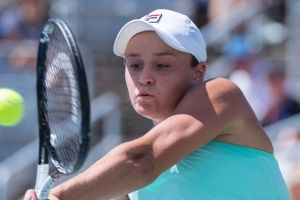 Australia's Ashleigh Barty is continuing her good form in North America.