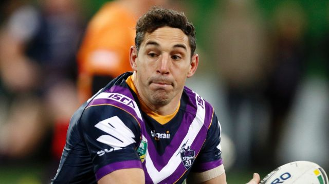 Milestone man: Billy Slater might be playing his last game of rugby league.