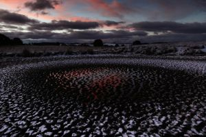 Snow falls across the Central Tablelands, around Oberon and Black Springs, settling on the barren paddocks and dried dams.