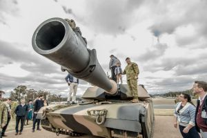 The Army demonstration day was held at Russell headquarters displaying a range of the Australian Army's equipment and ...