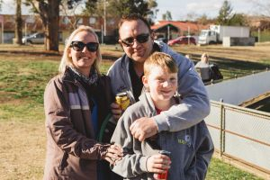 Danielle and Chris Webster of Rivett, and Josh 11.