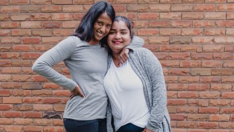 """Dilani Blundell, left, and Nelun Fahey. """"I don't think Nelun and I are bonded by our Sri Lankan heritage. Our bond, ..."""