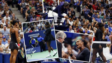 Spotlight: The Serena Williams controversy has polarised opinion.