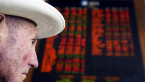 Australian shares are set to plummet on Wednesday following a global sell-off.
