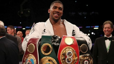 """""""You have to preserve your body"""": Boxing star Anthony Joshua."""