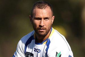 Park footy: Quade Cooper ran rings around Sydney's defence at Woollahra Oval on Saturday.