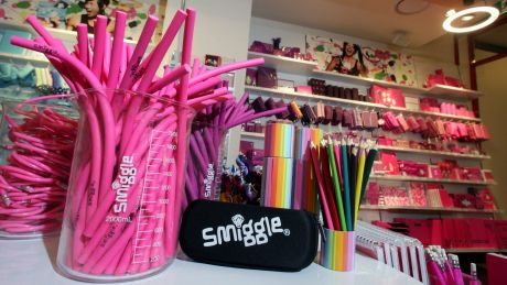 Pic of the new Smiggle store in Crown Street Mall