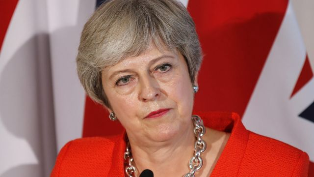 Reporters said May was shaking and looking visibly nervous as European leaders rejected her Brexit plan.