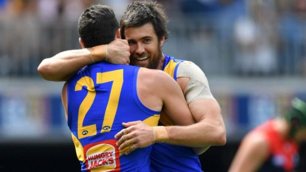 The Eagles were unbeaten in 2019 when Josh Kennedy and Jack Darling both played.