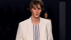 Collars were dropped at the BOSS S/S19 runway at NYFW.