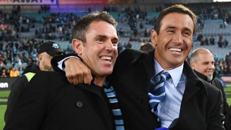 Bright outlook: Andrew Johns is predicting more silverware for Brad Fittler's Blues and the Roosters.