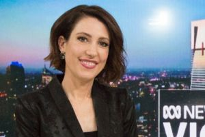 ABC newsreader Tamara Oudyn.