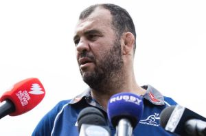 Spotlight: There is little doubt Michael Cheika commands more attention than any of his players.