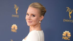 Kristen Bell at the Emmy Awards.