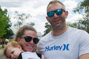 Leanne, Henry and Rob Montagu of Waramanga