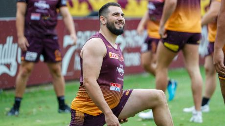 Anticipation: Jack Bird is thrilled to be fully fit again after a wretched first season in Brisbane.