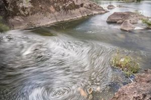 reader pic by @nicolas.duhaut. Interesting swirling patterns created by a long exposure on this river foam. Very nice ...