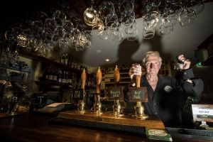 Wig and Pen owner Lachlan McOmish opened the city's first microbrewery in 1994.