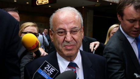 Might he still be pulling strings  in Macquarie Street? Jailed Labor powerbroker Eddie Obeid at the ICAC.